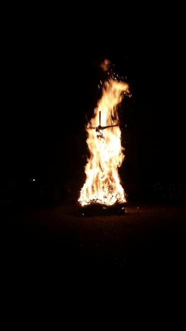 Hexenverbrennung im Schlossgarten